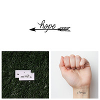 Fire Away - Temporary Tattoo (Set of 2)