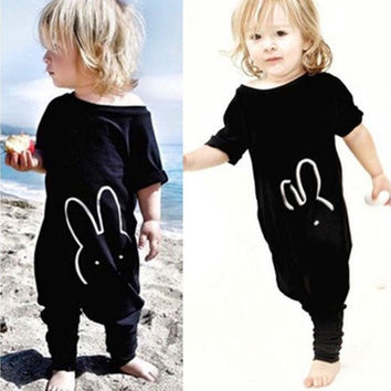 Hot Newborn Kids Baby Boy Girl Cotton Rabbit Romper Jumpsuit Bodysuit [9325371844]