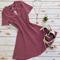 Classy Lady in Mauve