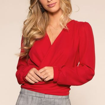Leah Top - Red