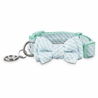 Bond & Co. Teal Striped Puppy Collar | Petco