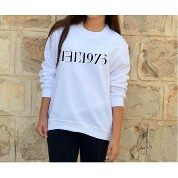 DCCKJ1A [the 1975] fashion new men and women cotton sweater