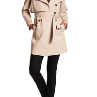 Andrew Marc | Taylor Detachable Hood Trench Coat | Nordstrom Rack