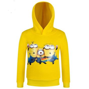 Kids Spring Autumn Jacket Cartoon