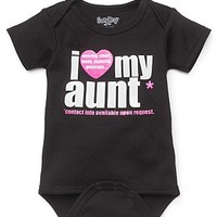 "Sara Kety Infant Girls' ""I Love My Aunt"" Bodysuit - Sizes 0-18 months 