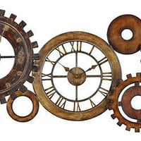 Uttermost Spare Parts Wall Clock - 06788