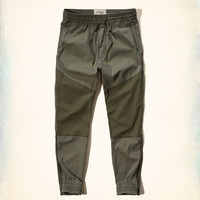 Hollister Colorblock Twill Jogger Pants