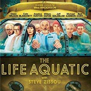 Bill Murray & Owen Wilson & Wes Anderson-The Life Aquatic with Steve Zissou