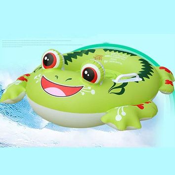 Swimming Pool beach Crab Flamingo Inflatable Ring Baby Cute Swimming Rings For 1-6 Years Old Kids Animal Bathing Circle  AccessoriesSwimming Pool beach KO_14_1