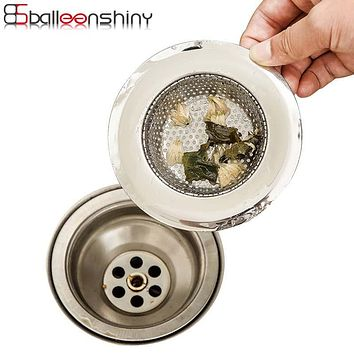 Stainless Steel kitchen Appliances Sewer Filter Barbed Wire Waste Stopper /Floor Drain Sink Strainer Preventing Clogging Tools