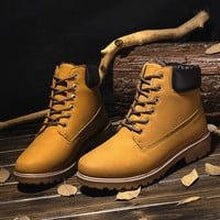 Men Dr. Martens Winter Training High-top Casual Outdoors Plus Size Men's Shoes [9462346439]