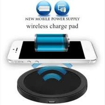 New Arrival Hot Sales Qi Wireless Power Charger Charging Pad for Mobile Phones wish first MEIfang