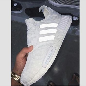 """ADIDAS"" Trending New Fashion Casual Sports Women Men Shoes White"