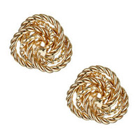 Rope Knot Studs - Jewelry  - Bags & Accessories