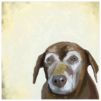 Best Friend - Sweet Old Dog Wall Art
