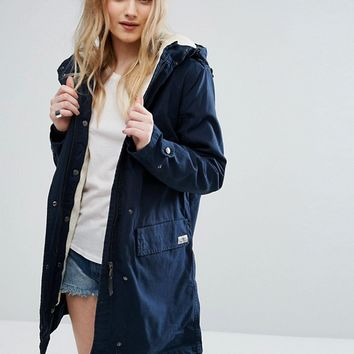 Parka London Elisa Cotton Parka Jacket at asos.com
