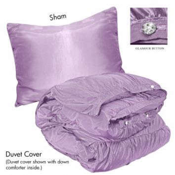 Wake Up Frankie - Romancing the Ruffles Plain Set - Lavender (Pre-order!) : Teen Bedding, Pink Bedding, Dorm Bedding, Teen Comforters