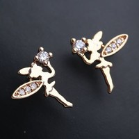 My Little Fairy Princess Rhinestone Earrings