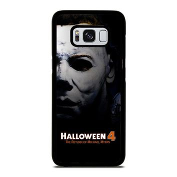 MICHAEL MYERS HALLOWEEN 4 Samsung Galaxy S3 S4 S5 S6 S7 Edge S8 Plus, Note 3 4 5 8 Case Cover
