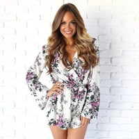 Full Of Grace Floral Romper