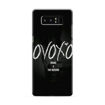 Drake X The Weeknd Samsung Galaxy Note 8 Case