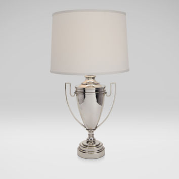 Huntsman Silver Trophy Lamp