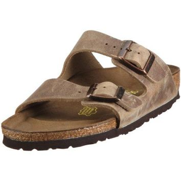 Birkenstock Men's Arizona 2-Strap Cork Footbed Sandal