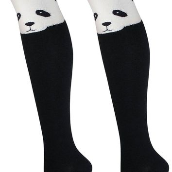 Panda Women's Over The Knee Thigh High Socks