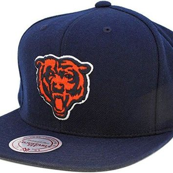 Chicago Bears Vintage Snapback Hat by Mitchell & Ness