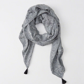 Womens Jacquard Scarf | Womens Accessories & Jewelry | Abercrombie.com