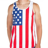 Neff Flagged Tank Top - Men's Shirts/Tops | Buckle