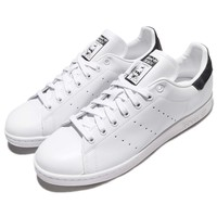 adidas Originals Stan Smith White Black Leather Men Classic Shoes CP9726