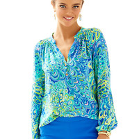 Elsa Top - Lilly's Lagoon - Lilly Pulitzer