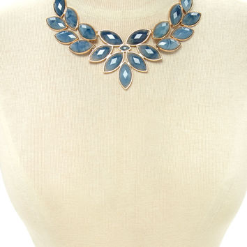 Faux Stone Statement Necklace | Forever 21 - 1000178380