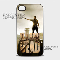 Walking Dead Plastic Cases for iPhone 4,4S, iPhone 5,5S, iPhone 5C, iPhone 6, iPhone 6 Plus, iPod 4, iPod 5, Samsung Galaxy Note 3, Galaxy S3, Galaxy S4, Galaxy S5, Galaxy S6, HTC One (M7), HTC One X, BlackBerry Z10 phone case design
