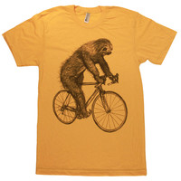 Sloth On A Bike T-Shirt