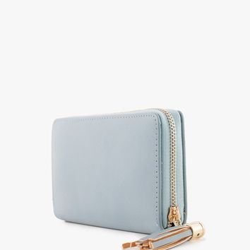 Azalea - Tassel Full Zip Wallet