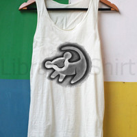 Lion Shirt Simba Shirt Tank Top TShirt Top – size S M L XL