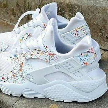 promo code for nike huarache flower customized b8070 192bf 2d274755e9f7
