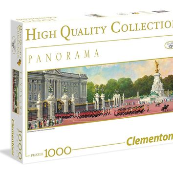 London Changing the Guard - 1000 Piece Panorama Jigsaw Puzzle