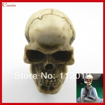 Universal Manual Shift Lever Knob Good Quality Carved Skull Bone Ghost Gear Shift Knob