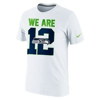 "The Nike ""We Are 12"" (NFL Seahawks) Men's T-Shirt."