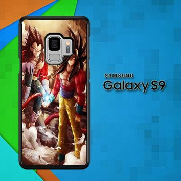 Goku Vegeta Super Saiyan L1575 Samsung Galaxy S9 Case
