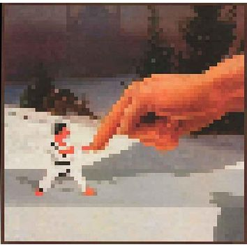 Minecraft Finger Fighter Video Game Poster 24x24