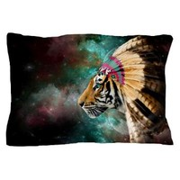 Chief Of Dreams: Tiger Pillow Case> Pillow Cases> soaring anchor designs