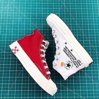Off White X Converse Chuck Taylor 70s Red White