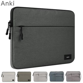"New Brand Anki Sleeve Case For Laptop 11"",12"",13"",14"",15"",15.6 inch, Bag For Macbook Air Pro 13.3"",15.4"",Free Drop"