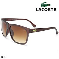 LACOSTE 2018 street fashion men and women models wild fashion sunglasses F-ZXJ #4