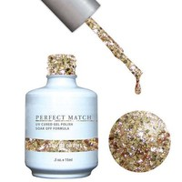 LeChat Perfect Match Gel / Lacquer Combo - Queen Of Drums 0.5 oz - #PMS89