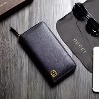 Hot Gucci Leather Satchel wallet